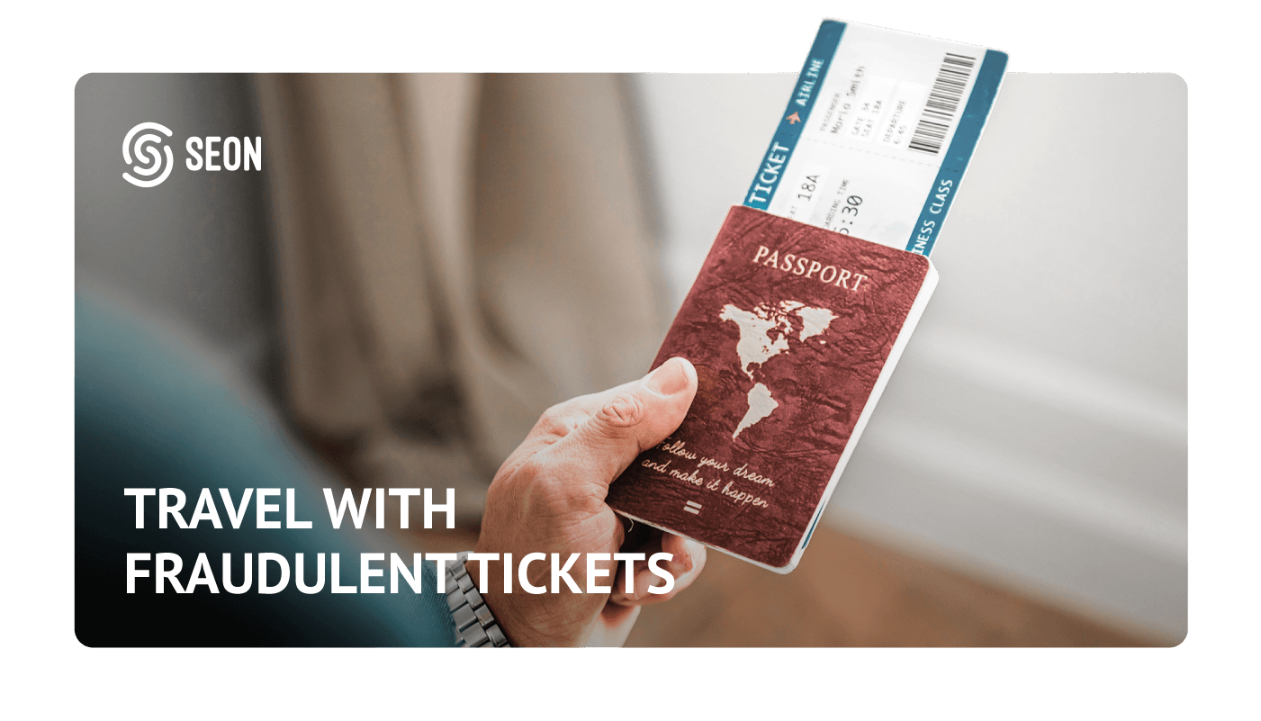 travel with fraudulent ticket