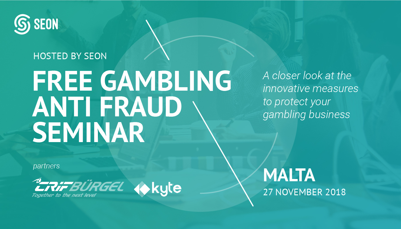 Free Gambling Anti-Fraud Seminar by SEON
