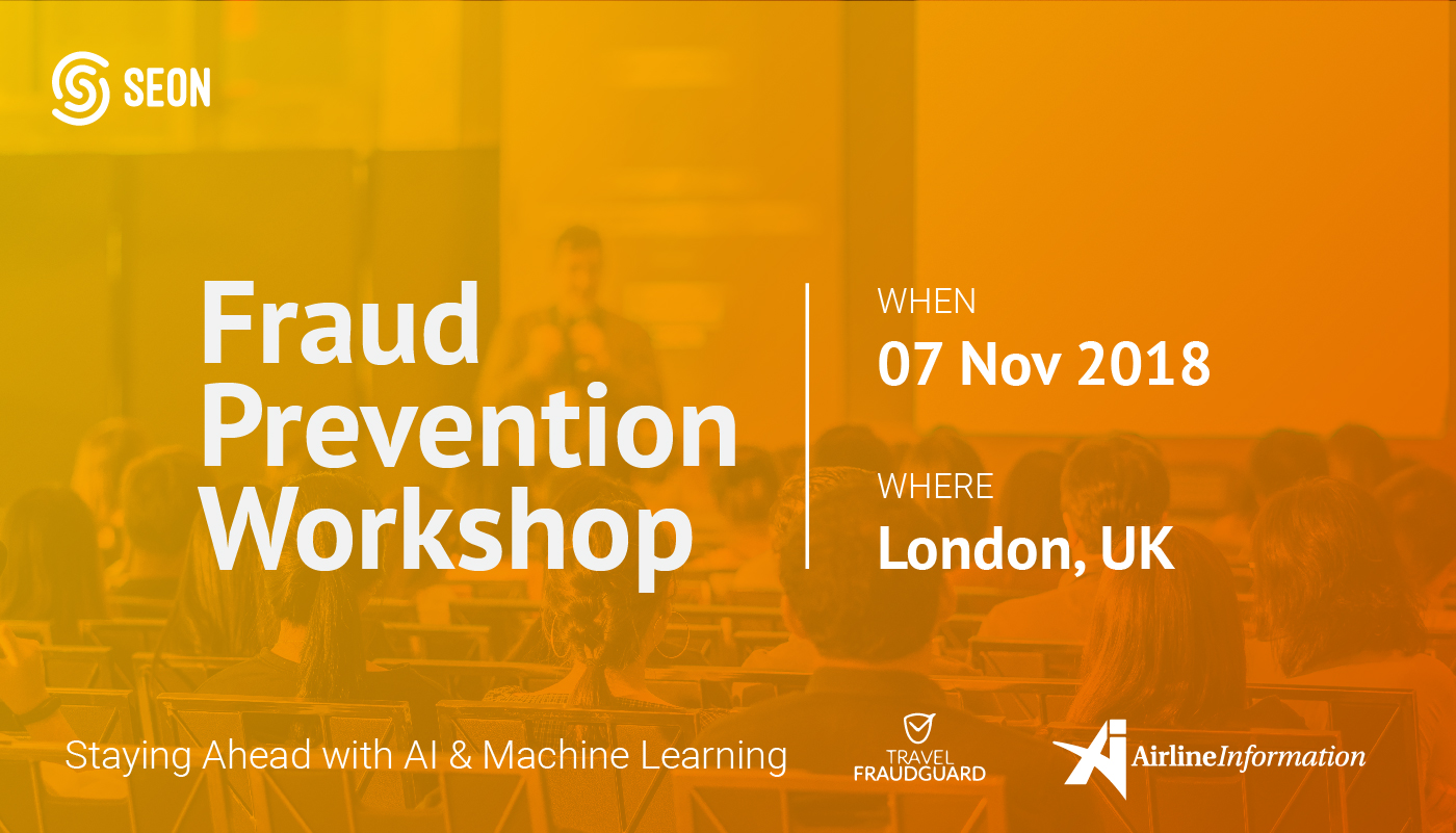 Fraud Prevention Workshop in London - 2018