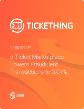 e-Ticket Marketplace Lowers Fraudulent Transactions to 0.01%