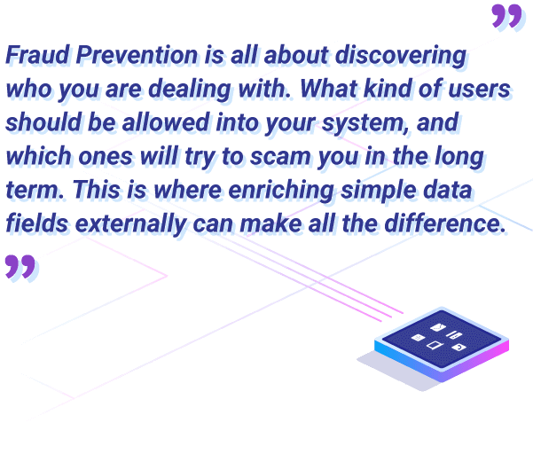 data enrichment for fraud prevention makes a difference