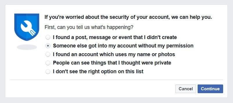 facebook fraud prevention ATO report