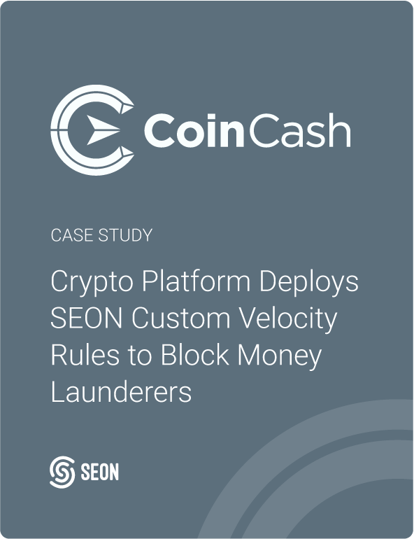 Crypto Platform Deploys SEON Custom Velocity Rules to Block Money Launderers and Cut Down Fraud by 60%