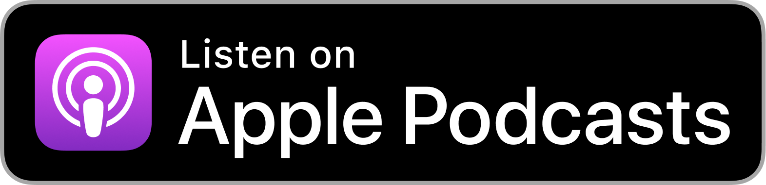 Listed on Apple Podcasts