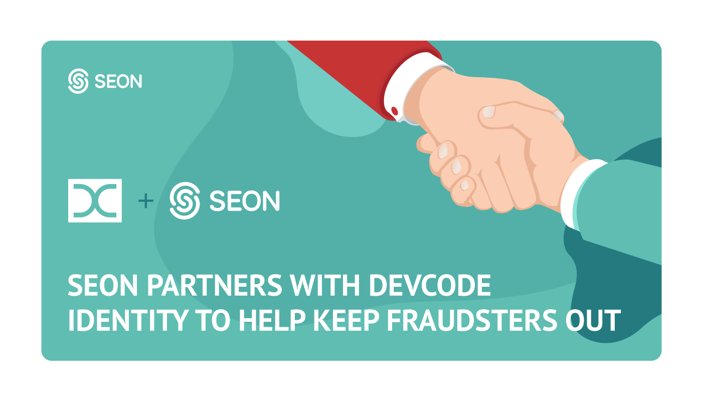 SEON Partners with DevCode to help them fight fraud