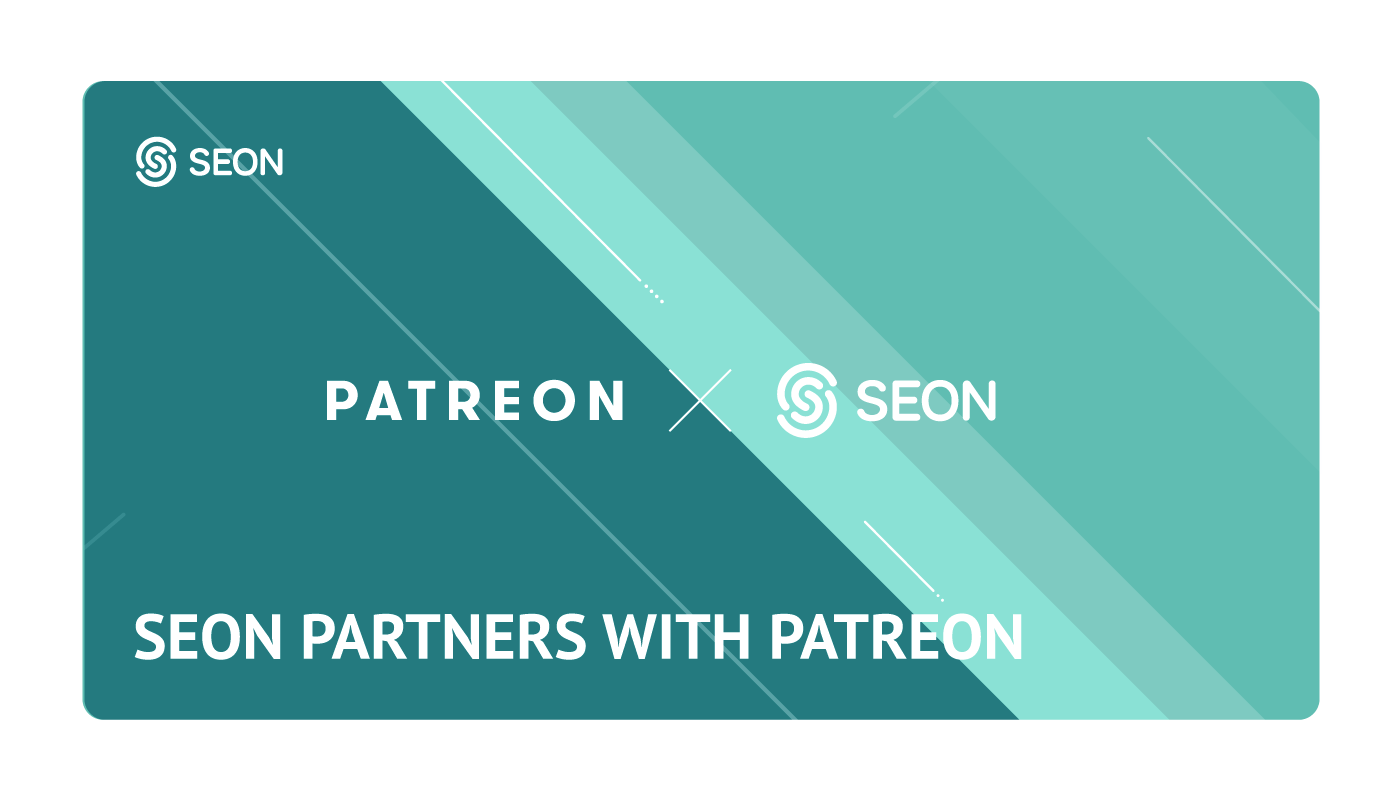 Patreon and SEON partnership cover